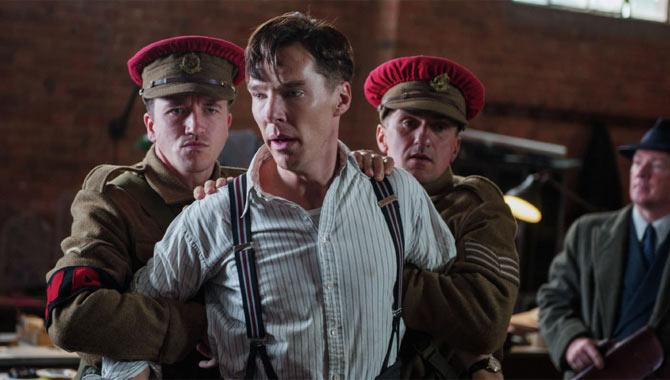 Benedict as Alan Turing