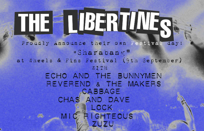 Libertines Release Details Of Their Curated Stage At Wheels & Fins Festival