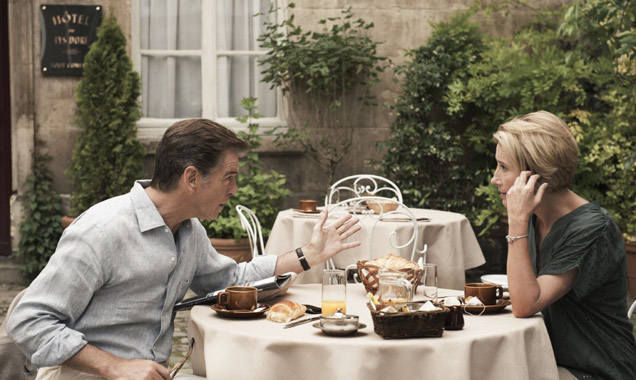 Pierce Brosnan Emma Thompson Love Punch