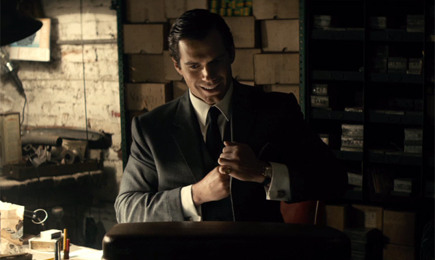 Henry Cavill stars in The Man From U.N.C.L.E