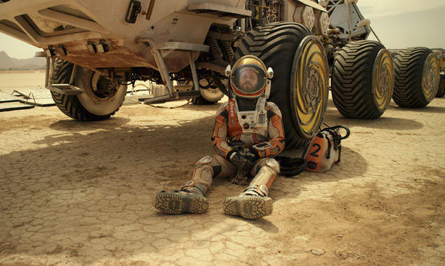 The Martian Makes Matt Damon Think Of Life In The Stars