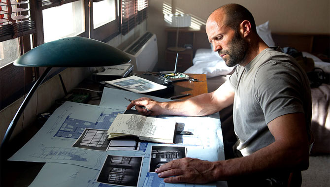 Jason Statham Loves The Mechanic's Complicated Action