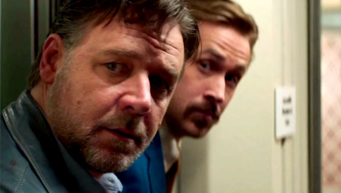 'The Nice Guys' Star Ryan Gosling Says Director Shane Black Is 'A Genre Unto Himself'