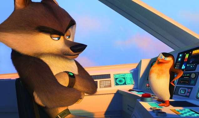Benedict Cumberbatch in Penguins of Madagascar