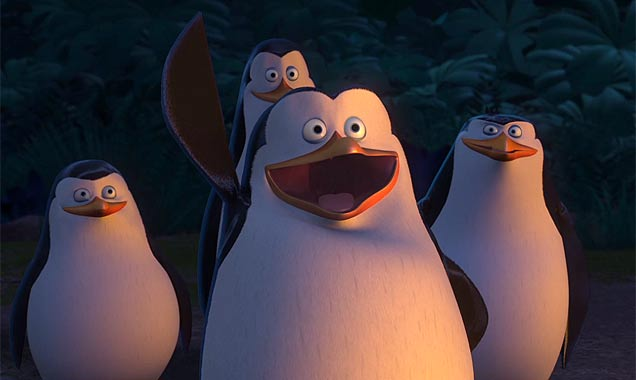 Skipper, Kowalski, Rico and Private