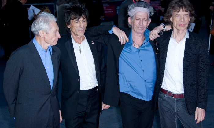 The Rolling Stones at the 'Crossfire Hurricane' Premiere in London, 2015 / Photo Credit: Marechal Aurore/ABACA/PA Images