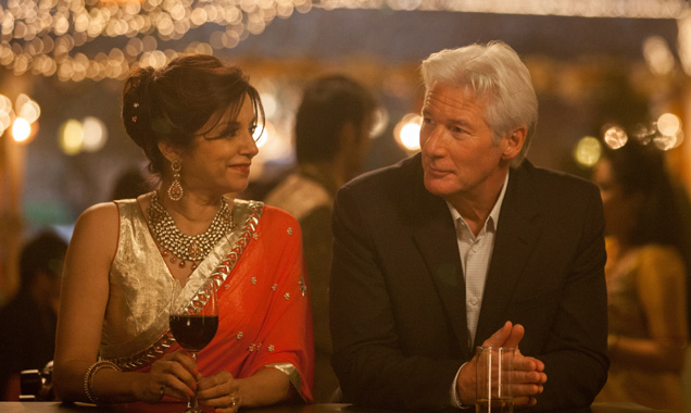 Richard Gere and Lillette Dubey in 'The Second Best Exotic Marigold Hotel'