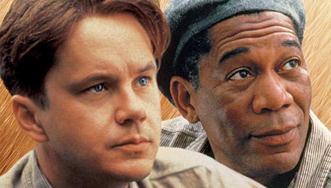 Morgan Freeman and Tim Robbins starred in 'The Shawshank Redemption'