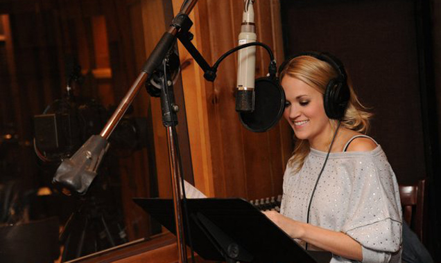 Carrie Underwood, The Sound of Music Rehearsal