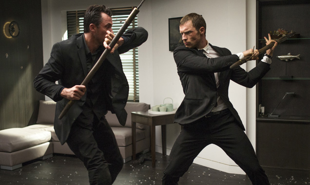 Ed Skrein shows his fighting skills in The Transporter Refueled