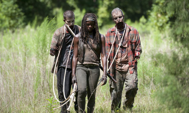 "Danai Gurira Teases ""Unpredictable"" 'The Walking Dead' Season 8"