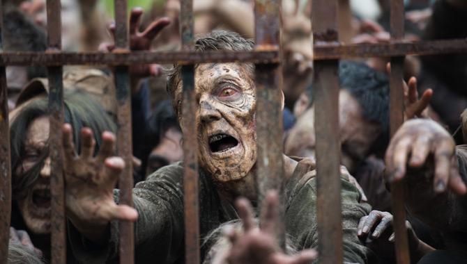 Walkers plague the lands in 'The Walking Dead'