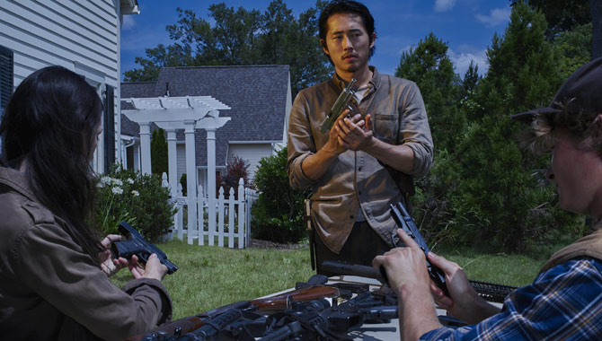 Steven Yeun as Glenn Rhee in 'The Walking Dead' Season 6