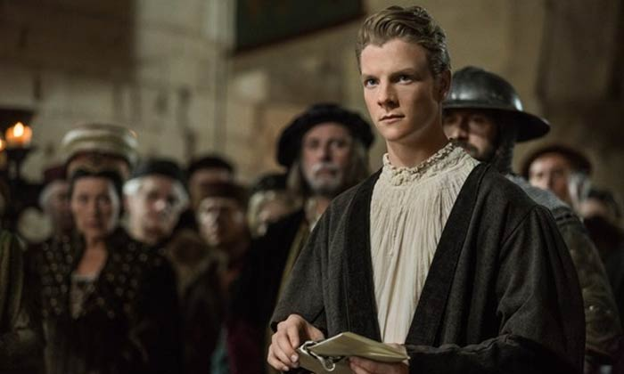The OA star Patrick Gibson in The White Princess