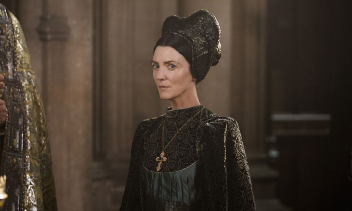 Michelle Fairley takes on the role of Margaret Beaufort