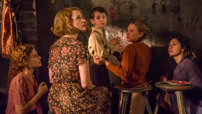 The cast of 'The Zookeeper's Wife'