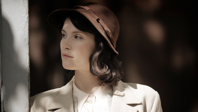 Gemma Arterton plays Catrin Cole in 'Their Finest'
