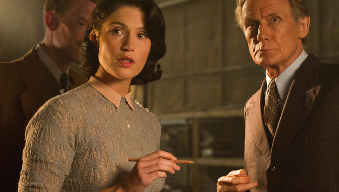 Gemma Arterton and Bill Nighy in 'Their Finest'