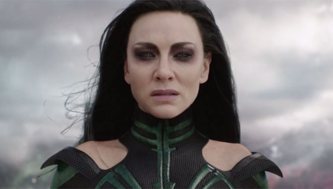 Hela is a force to be reconed with