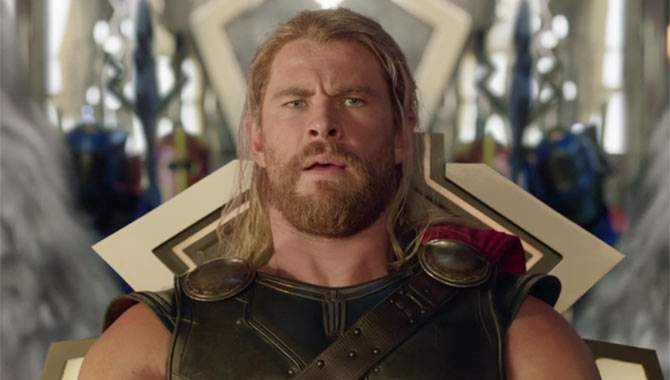 "Chris Hemsworth Found Thor's 'Ragnarok' Haircut ""Freeing"""