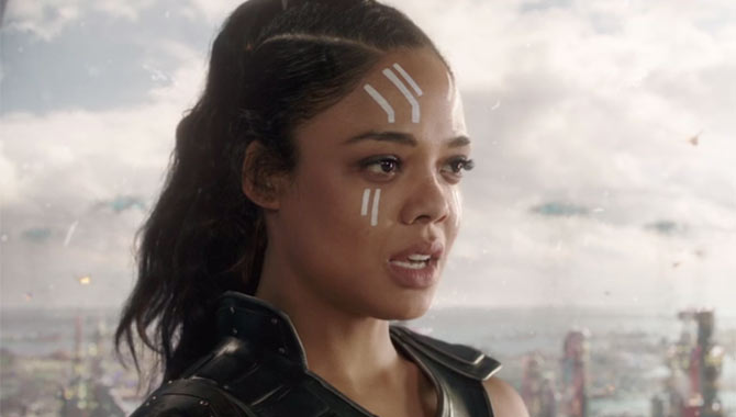 """Tessa Thompson On The """"Incredibly Human"""" Marvel Cinematic Universe Characters"""