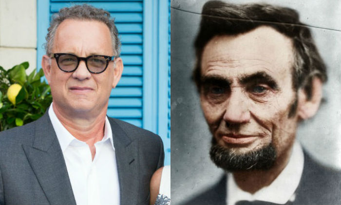 Tom Hanks and Abraham Lincoln