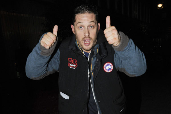 Tom Hardy Arriving At The English National Ballet's The Nutcracker