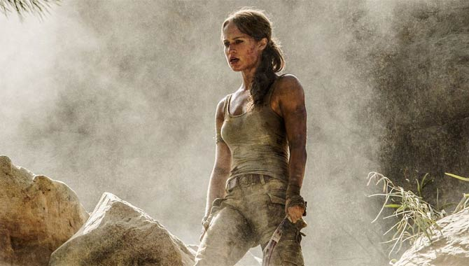 Get Your First Look At Alicia Vikander As Lara Croft In New 'Tomb Raider' Image