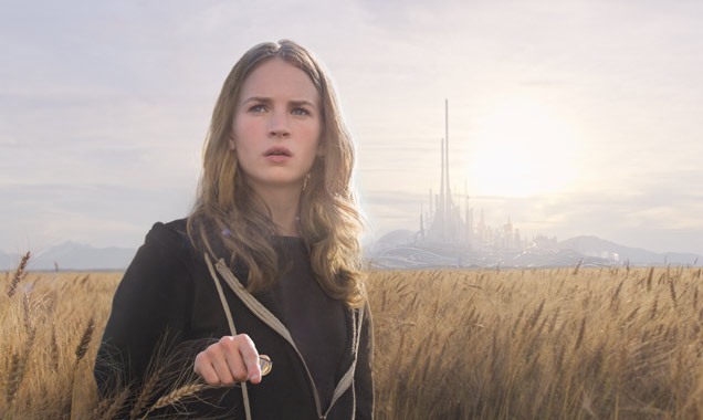 Britt Robertson in 'Tomorrowland'