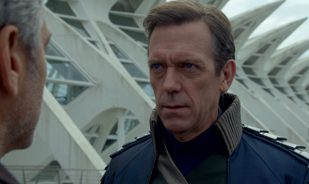 Hugh Laurie in 'Tomorrowland'