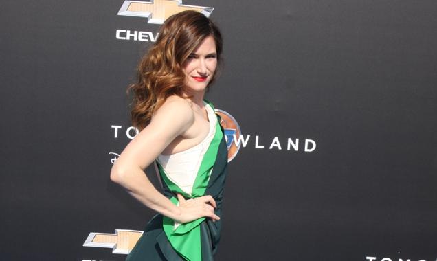 Kathryn Hahn at Tomorrowland premiere