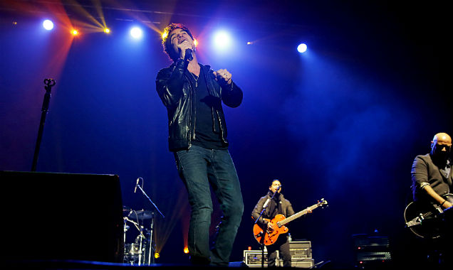 Train live in Manchester