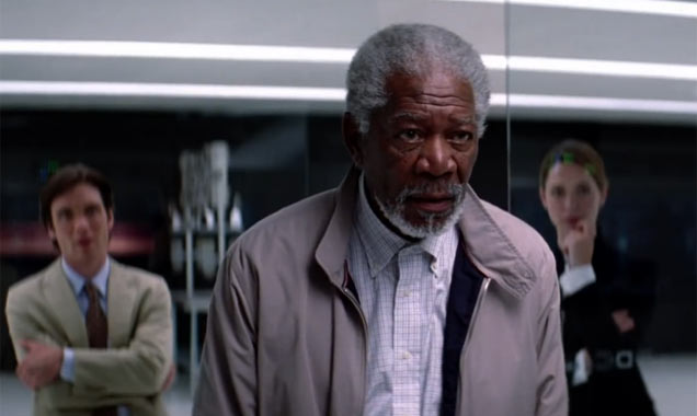 Transcendence Morgan Freeman