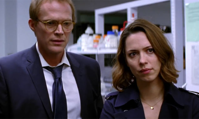 Transcendence Paul Bettany Rebecca Hall