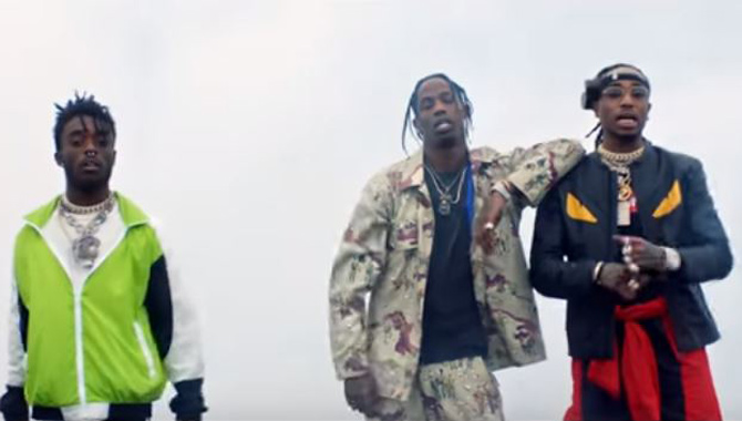 Travis Scott Teams With Lil Uzi Vert And Quavo For New 'The Fate Of The Furious' Song