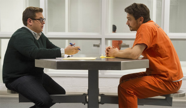 James Franco and Jonah Hill in 'True Story'