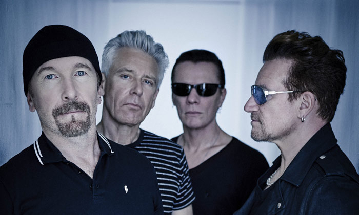 U2 launch the first single from their forthcoming album 'Songs of Experience'