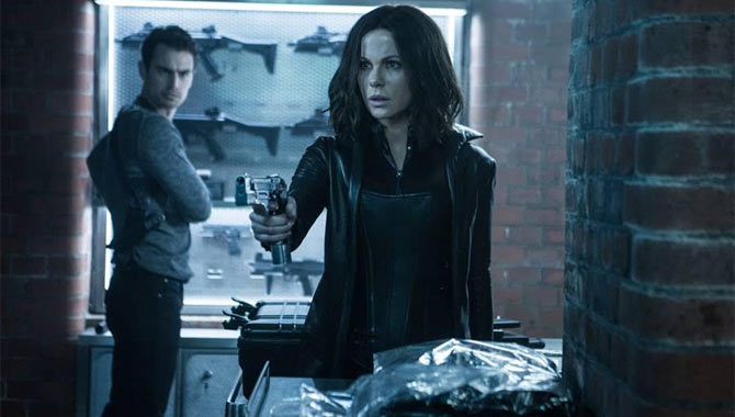 Kate Beckinsale Enjoyed Slipping Back Into Selene's Trousers For Underworld: Blood Wars