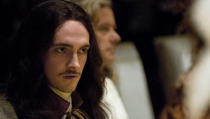 George Blagden in Versailles