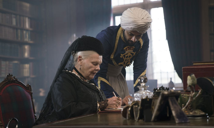 Judi Dench and Ali Fazal star in 'Victoria and Abdul'