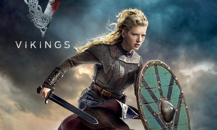 Katheryn Winnick as Lagertha in 'Vikings'