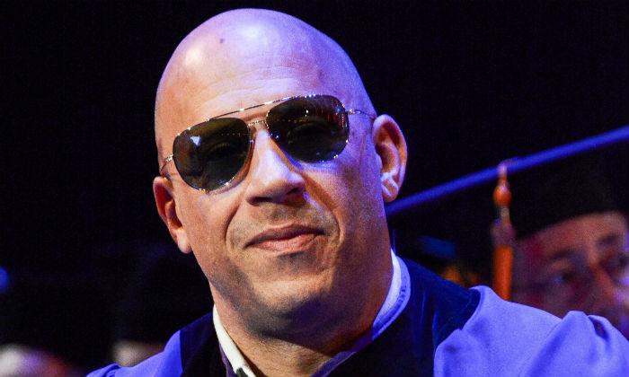 Vin Diesel receives honorary doctorate