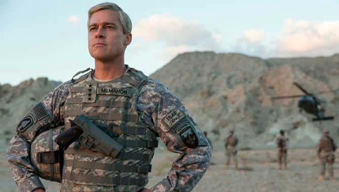 Brad Pitt takes the lead role in War Machine