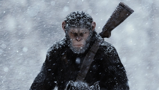 Andy Serkis returns in War Of The Planet Of The Apes