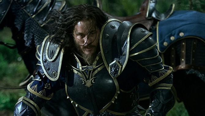 Travis Fimmel in the 'Warcraft' movie
