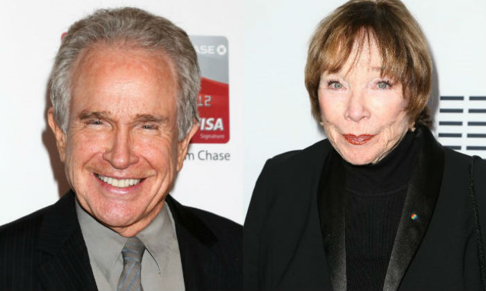 Warren Beatty and Shirley MacLaine