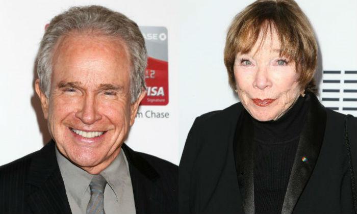 Warren Beatty and Shirley MacLaine