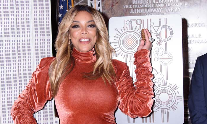 Wendy Williams at the Empire State Building