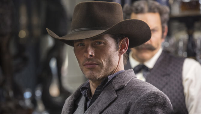 James Marsden in Westworld