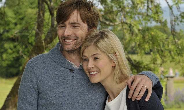 David Tenant and Rosamund Pike